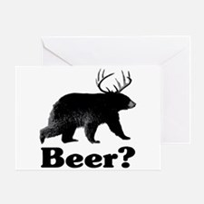 Beer? Greeting Card