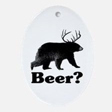 Beer? Ornament (Oval)