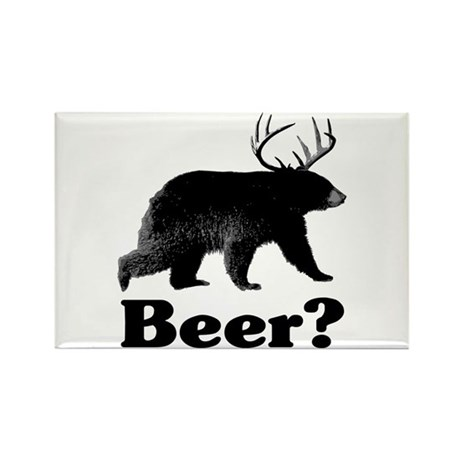 Beer? Rectangle Magnet (100 pack)