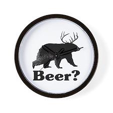Beer? Wall Clock