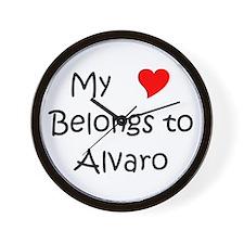 Cool Alvaro Wall Clock