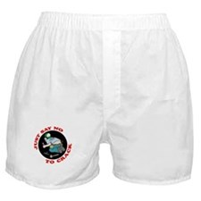 """Just Say No"" Boxer Shorts"