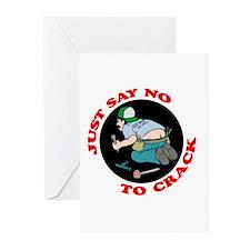 """Just Say No"" Greeting Cards (Pk of 10)"