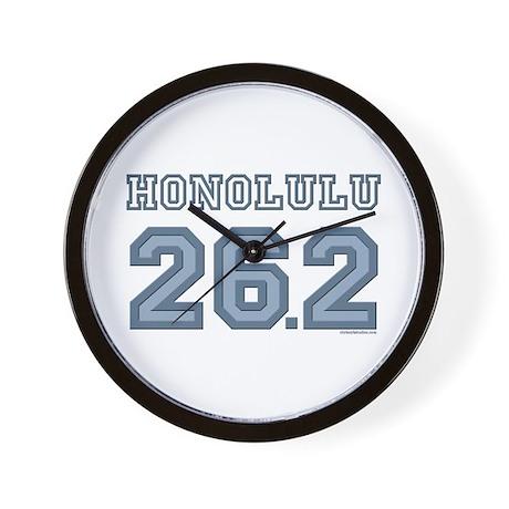 Honolulu 26.2 Marathoner Wall Clock
