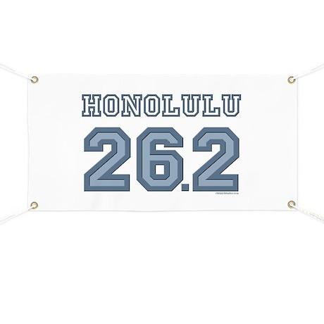 Honolulu 26.2 Marathoner Banner