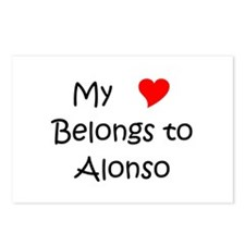 Cute Alonso Postcards (Package of 8)