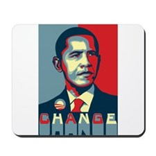 Barack Obama Change Mousepad