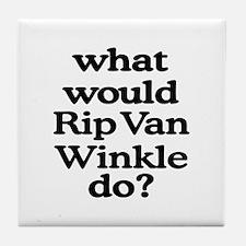 Rip Van Winkle Tile Coaster