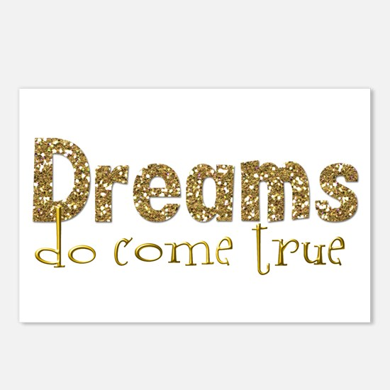 Dreams Come True Postcards (Package of 8)