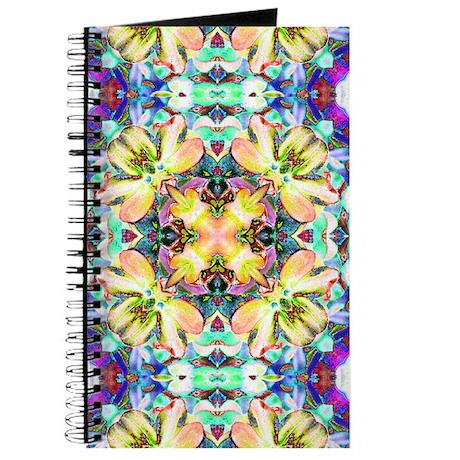 Four Flower Kaleidoscope Journal