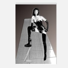 3D Dominatrix Postcards (Package of 8)