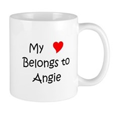 Unique My name is angie Mug
