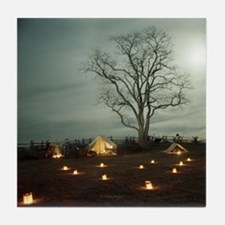 Southern Camp (90) Tile Coaster