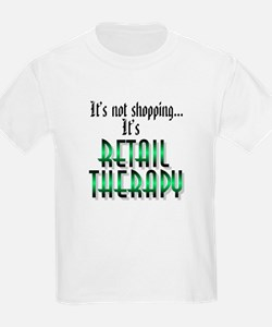 Retail Therapy Kids T-Shirt