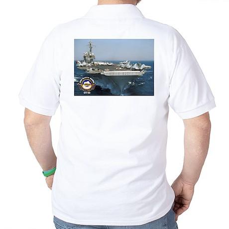 USS Wasp LHD 1 Golf Shirt