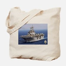 USS Wasp LHD 1 Tote Bag