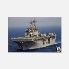 USS Wasp LHD 1 Rectangle Magnet
