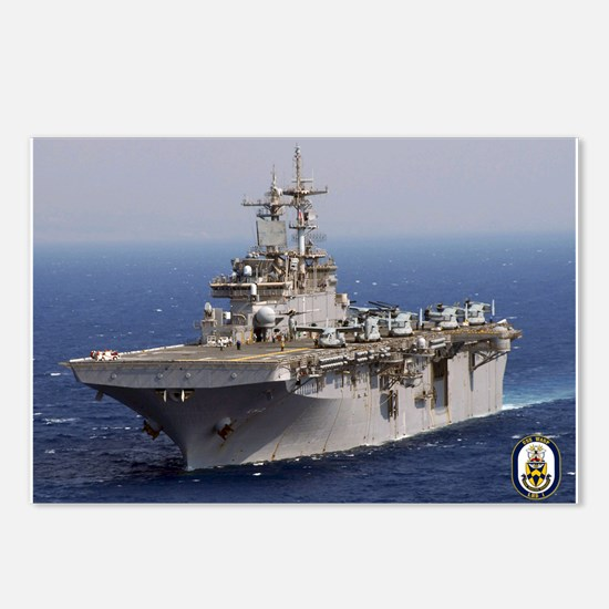 USS Wasp LHD 1 Postcards (Package of 8)