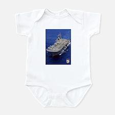 USS Essex LHD-2 Infant Bodysuit