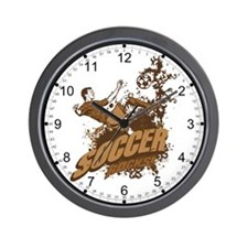 Soccer Rocks Wall Clock