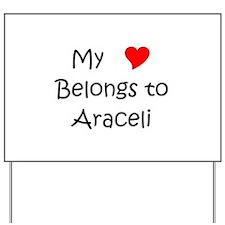 Araceli Yard Sign