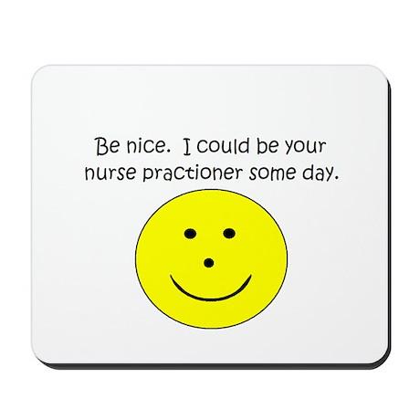 Nurse Practioner Mousepad