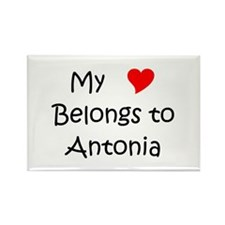 Cute My antonia Rectangle Magnet
