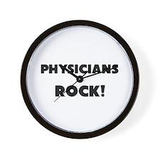 Physician Assistants ROCK Wall Clock