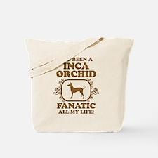 Peruvian Inca Orchid Tote Bag