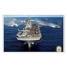 USS Kearsarge LHD-3 Rectangle Decal