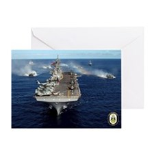 USS Kearsarge LHD-3 Greeting Card