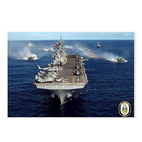 USS Kearsarge LHD-3 Postcards (Package of 8)