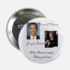 "Obama Biden A Few Good Men 2.25"" Button (10 p"