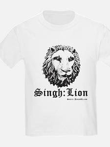 Singh is a Lion T-Shirt