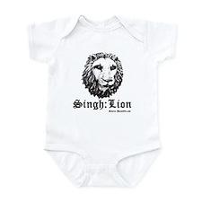 Singh is a Lion Infant Bodysuit