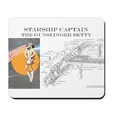 Starship Captain: Gunslinger  Mousepad