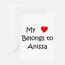 Cool Anissa Greeting Card