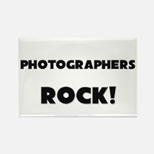 Photographers ROCK Rectangle Magnet