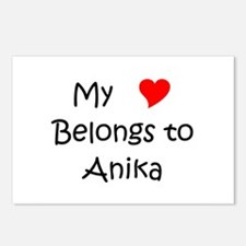 Funny Anika Postcards (Package of 8)