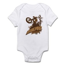 Biking Rocks Infant Bodysuit