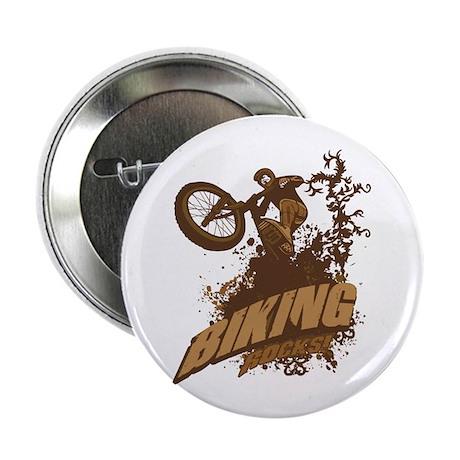 "Biking Rocks 2.25"" Button (100 pack)"
