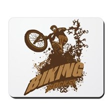 Biking Rocks Mousepad