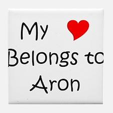 Funny Aron Tile Coaster