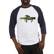 Cool Red eyed tree frog Baseball Jersey