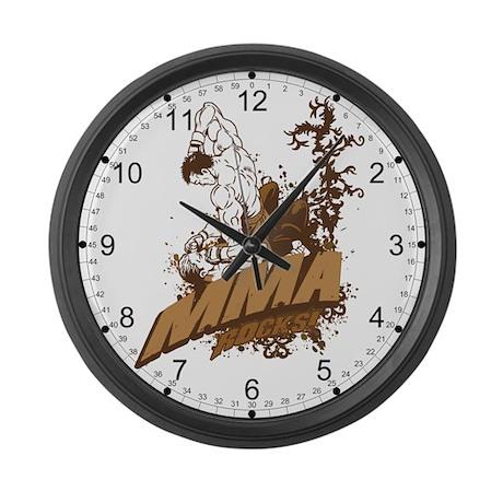 MMA Rocks Large Wall Clock