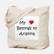 Cute Arianna Tote Bag