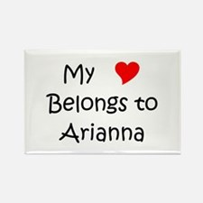 Cute Arianna Rectangle Magnet