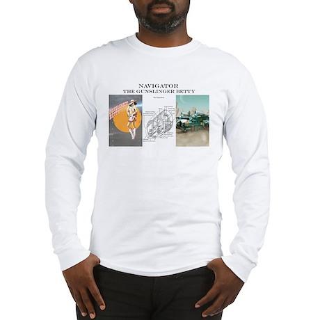 Gunslinger Betty: Navigator Long Sleeve T-Shirt