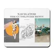 Gunslinger Betty: Navigator Mousepad