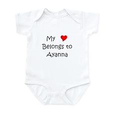 Cute Ayanna Infant Bodysuit